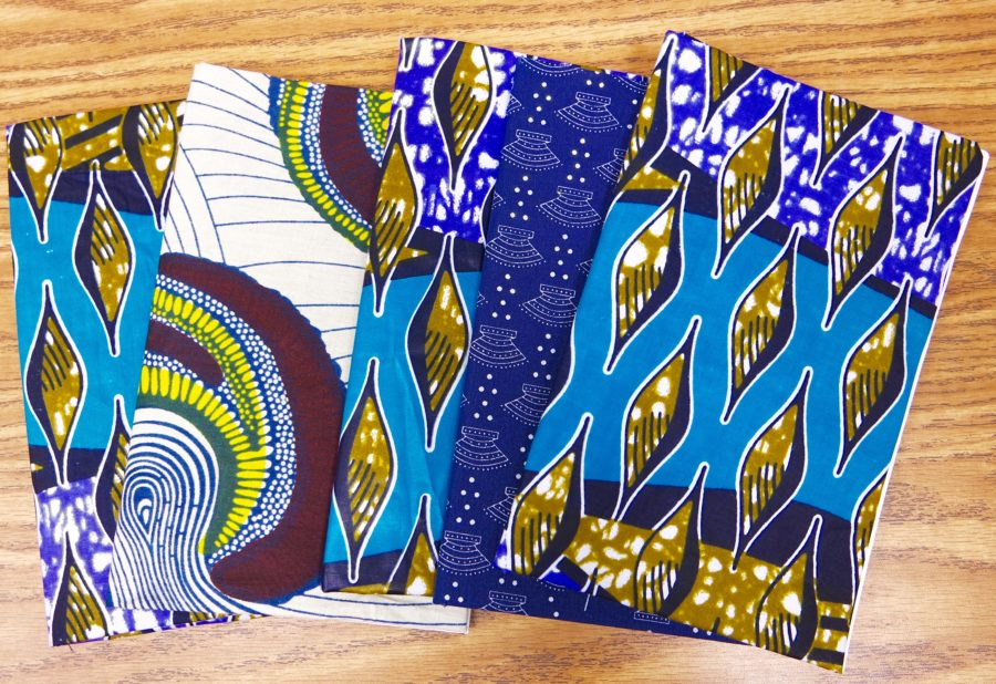 DIY fabric notebook - K.White Collection