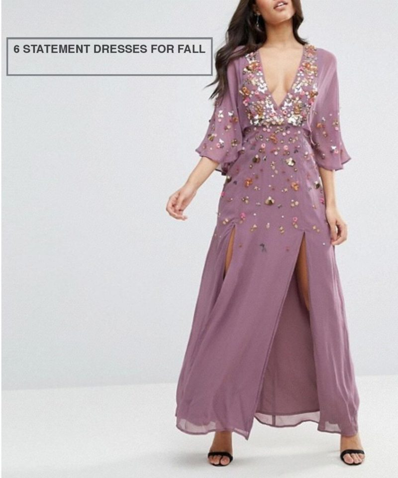 6 Statement Dresses for Fall K-White-Collection